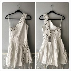 Religion Lace Up Grommet Dress (NWT)